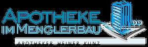 Logo der Apotheke im Menglerbau