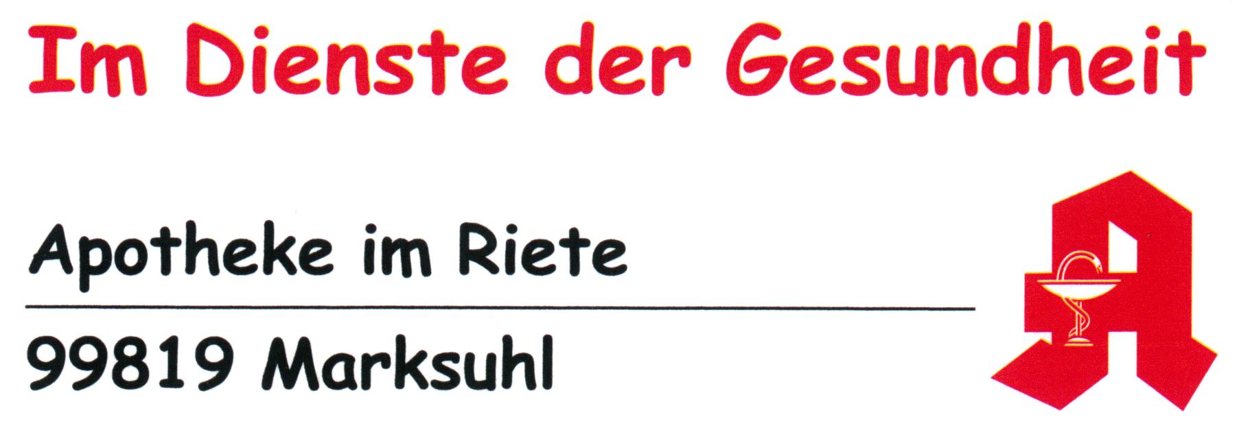 Logo der Apotheke im Riete