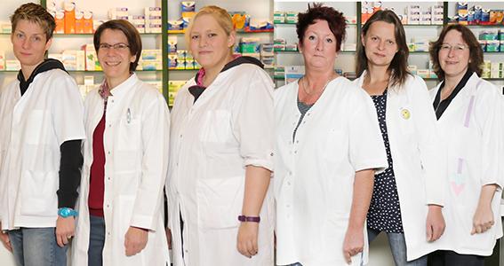 Team der Apotheke im Uni-Center