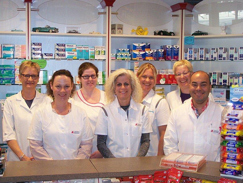 Team der Apotheke Holtriem