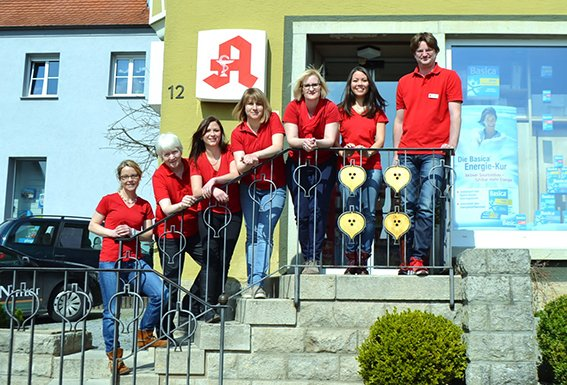 Team der Apotheke Ilshofen