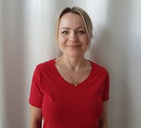 Porträtfoto von Olga Merkel