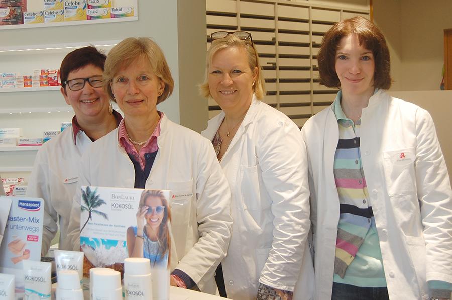Team der Apotheke Nienstedten Birgitta Steffen e.K.