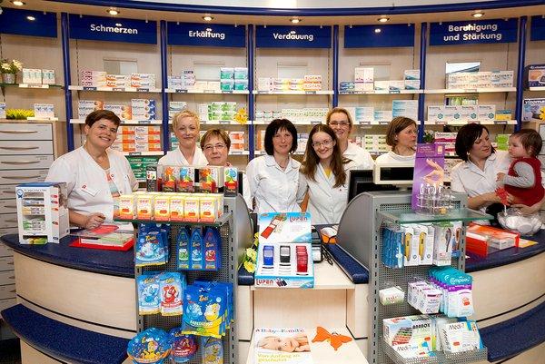 Team der Apotheke im Gesundheitszentrum