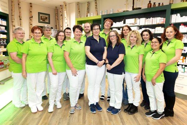 Team der Apotheke im Globus