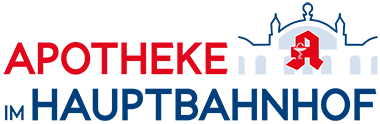 Logo der Apotheke im Hauptbahnhof