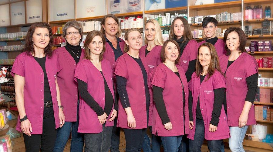 Team der Apotheke Diezenhalde
