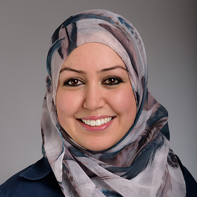 Porträtfoto von Najiha El-Massaoudi