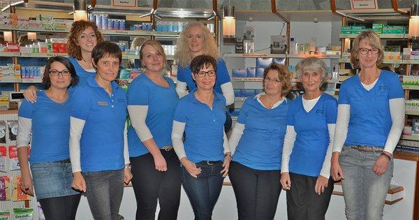 Team der Westentor-Apotheke