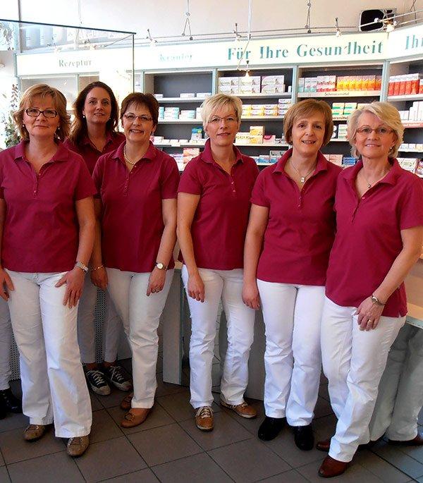 Team der Apotheke an der Propstei