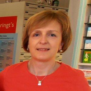 Porträtfoto von Frau Fangmann