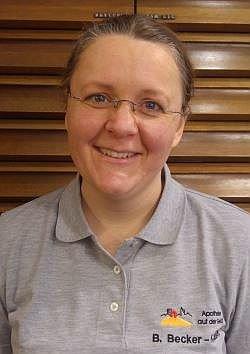 Porträtfoto von Frau Becker-Kaiser