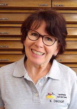 Porträtfoto von Frau Deckart