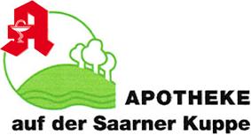 Logo der Apotheke auf der Saarner Kuppe