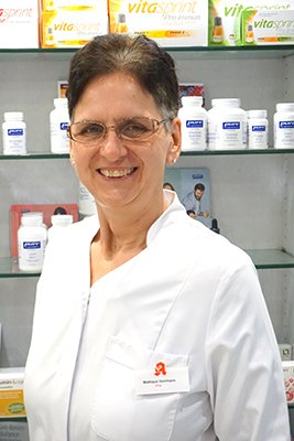 Porträtfoto von Frau Herrmann