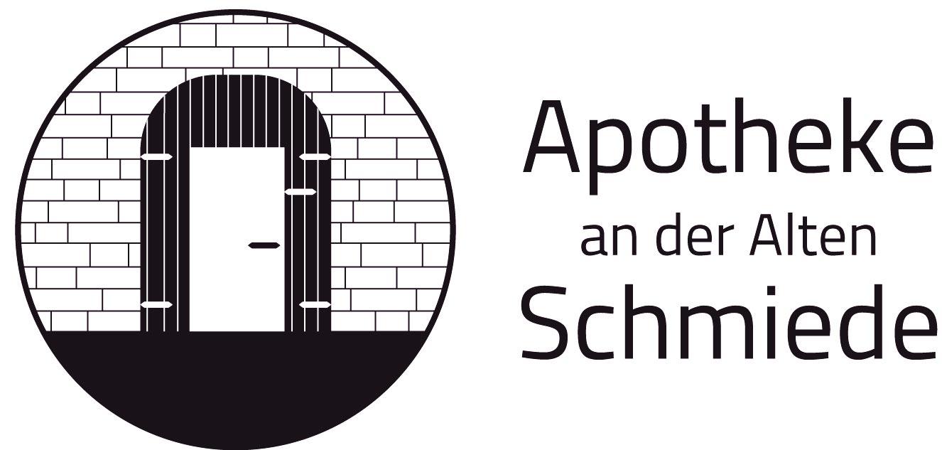 Logo der Apotheke an der alten Schmiede