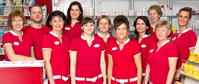 Team der Apotheke am Papenberg
