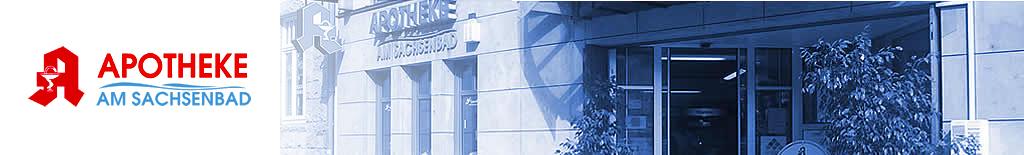 Logo der Apotheke am Sachsenbad