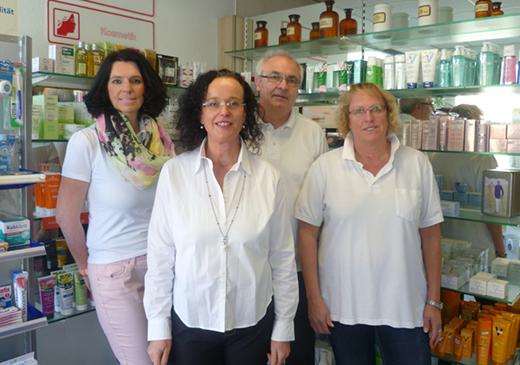 Team der Apotheke am Schraberg