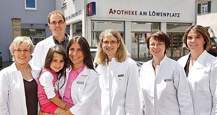 Team der Apotheke am Löwenplatz