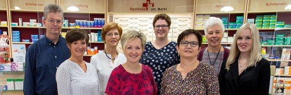 Team der Apotheke am Markt