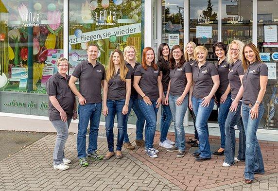 Team der Apotheke am Hünstein