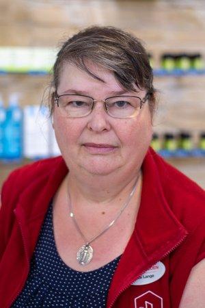 Porträtfoto von Brigitte Lange