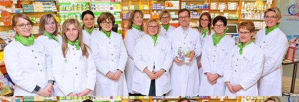 Team der Apotheke am Boyer Markt