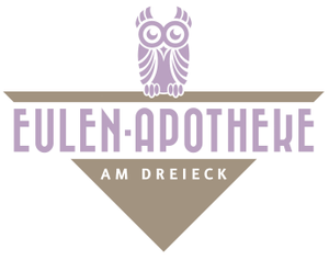 Logo der Eulen-Apotheke am Dreieck
