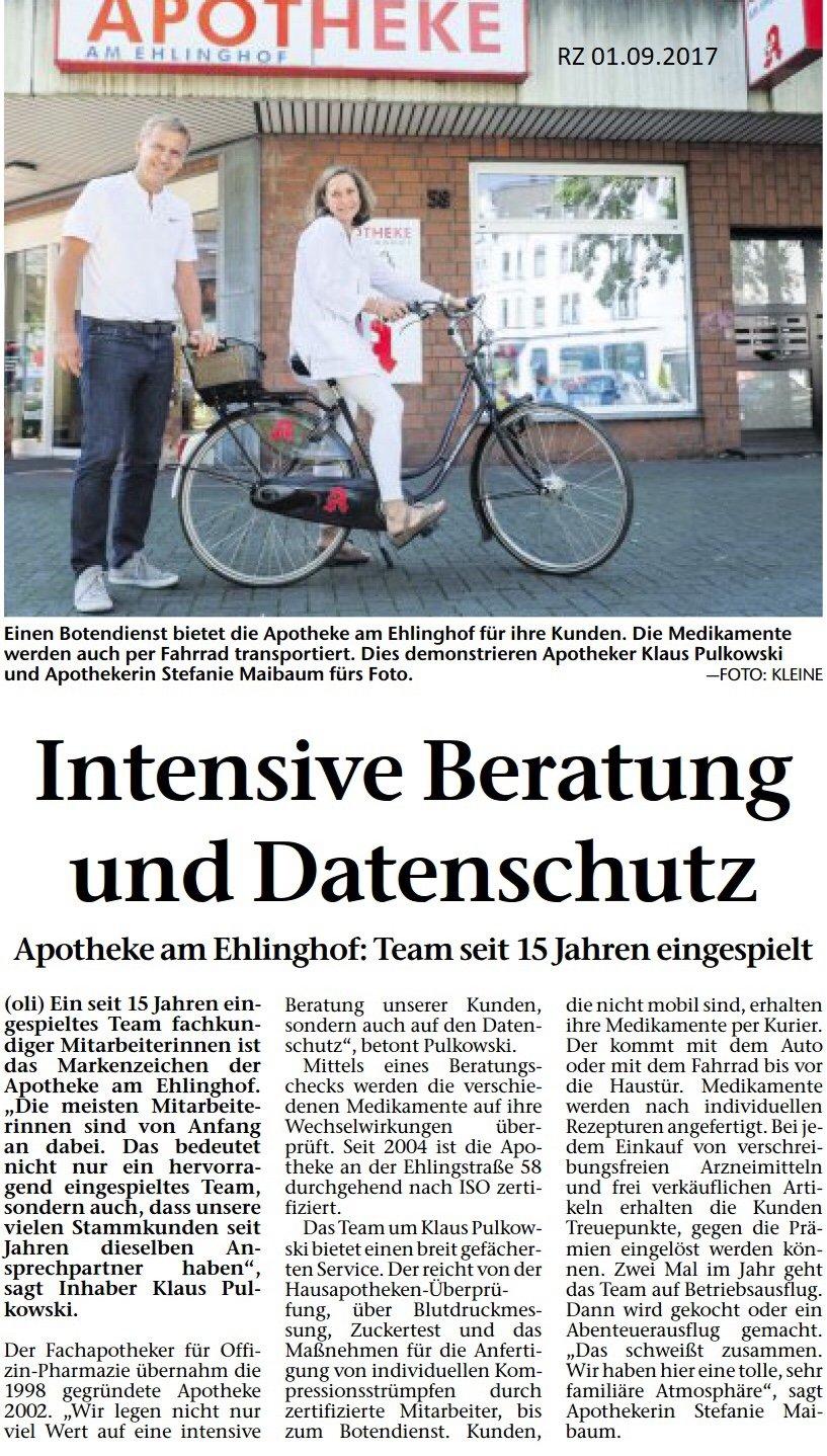 Team der Apotheke am Ehlinghof