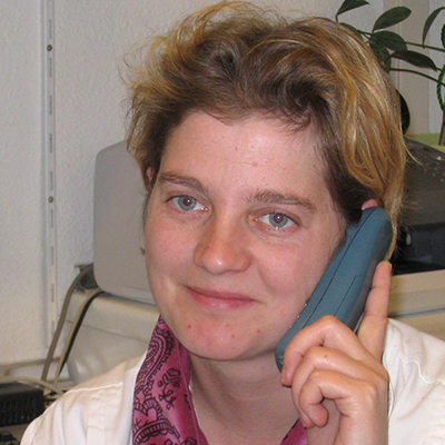 Porträtfoto von Frau Wilke