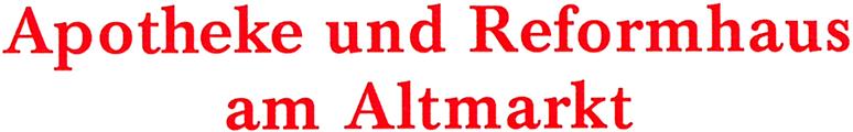 Logo der Apotheke am Altmarkt