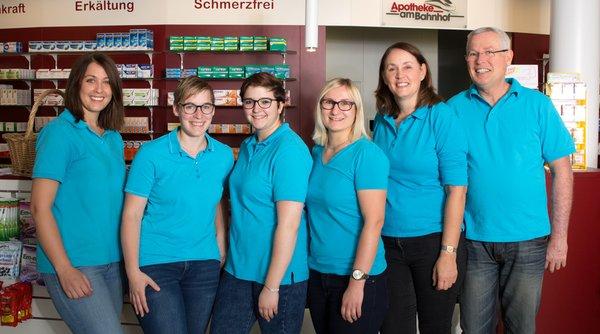 Team der Apotheke am Bahnhof