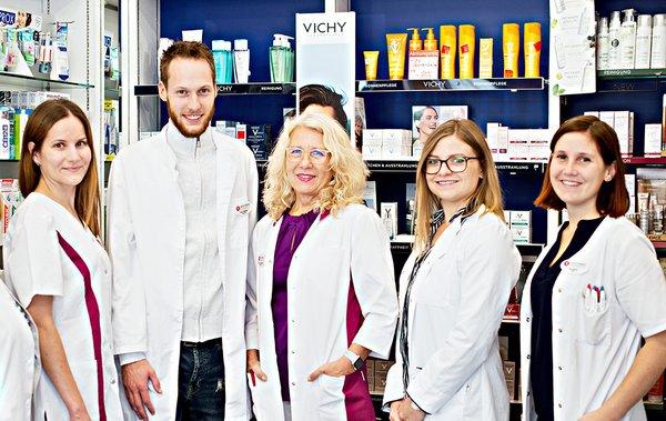 Team der Apotheke am Berliner Platz