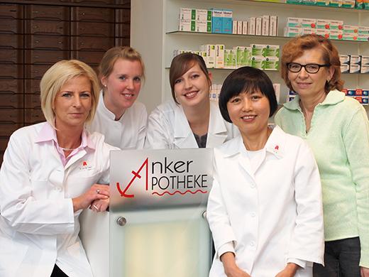 Team der Anker-Apotheke