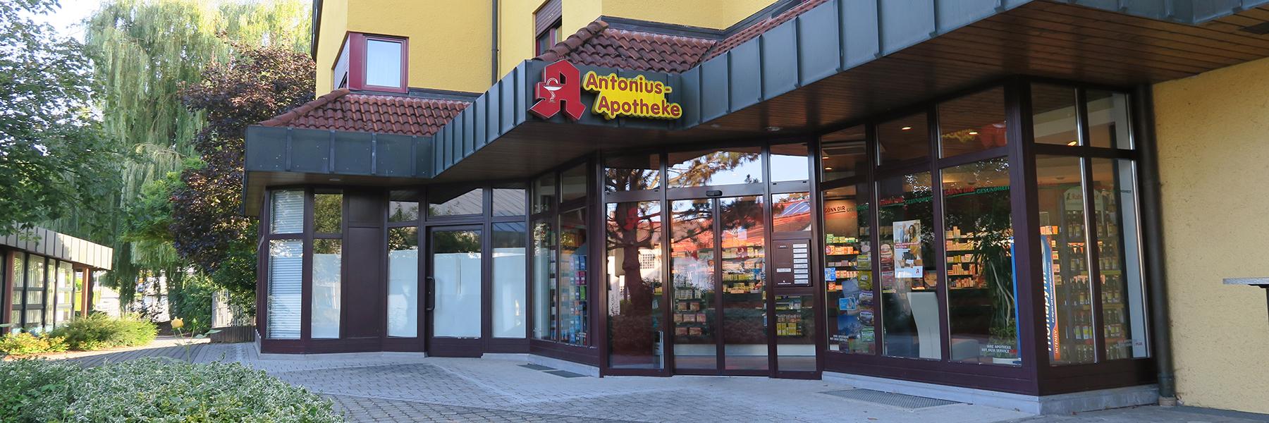 Herzlich willkommen in Ihrer Antonius-Apotheke!