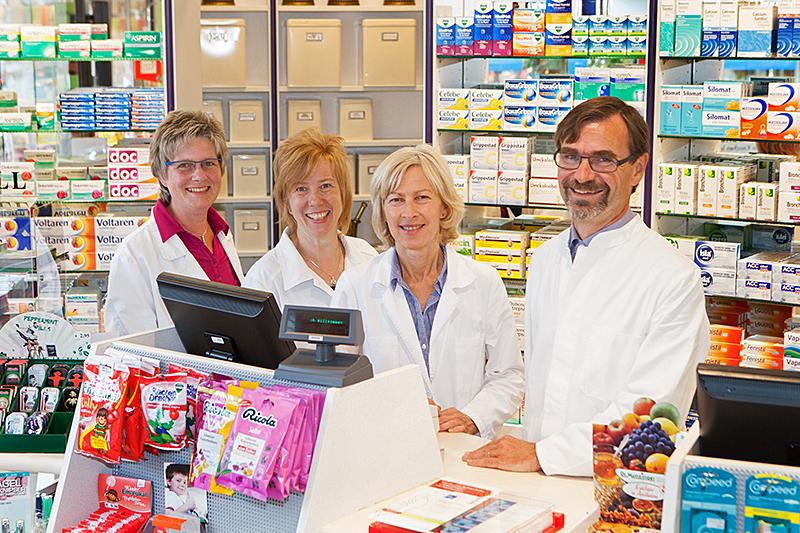 Team der Alte Apotheke Nellingen