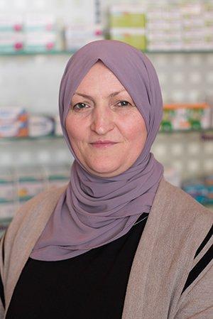 Porträtfoto von Frau Vasvije Bajrami