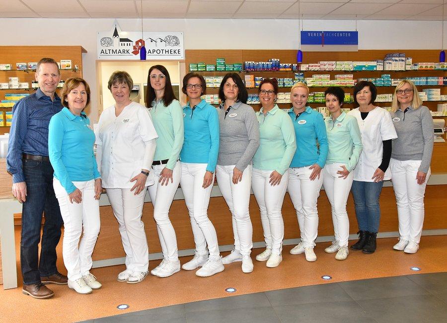 Team der Altmark-Apotheke