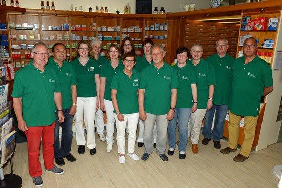 Team der Uhlen-Apotheke, Birte Neumann e.K.