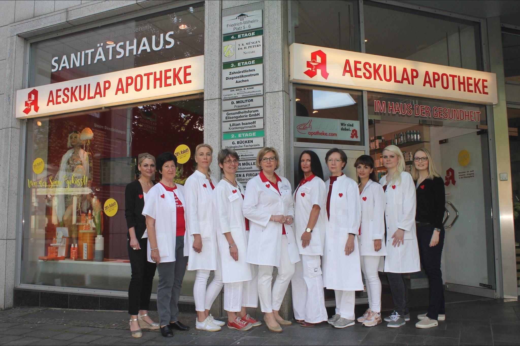 Team der Aeskulap Apotheke