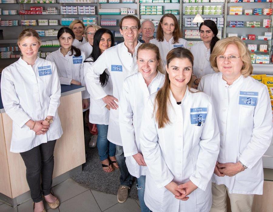 Team der Albert-Schweitzer-Apotheke
