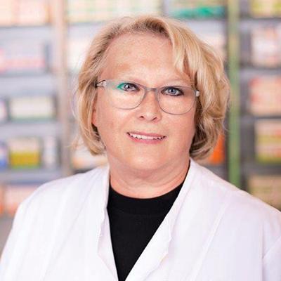 Porträtfoto von Frau Schwabe