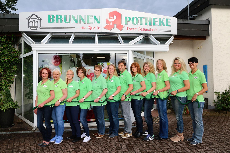 Team der Brunnen-Apotheke