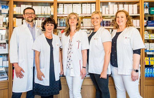 Team der Burg-Apotheke