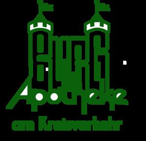 Logo der Burg-Apotheke am Kreisverkehr