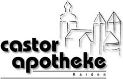 Logo der Castor-Apotheke, Apothekenbetriebs-OHG Hanke