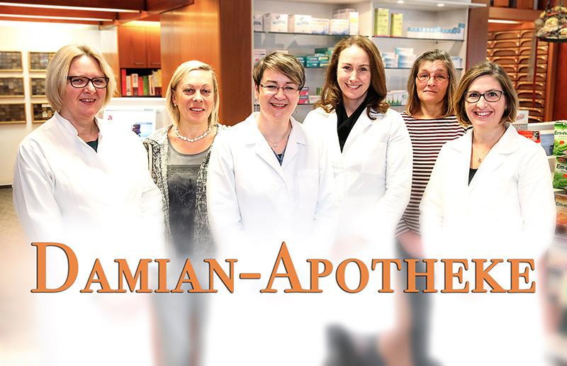 Team der Damian-Apotheke