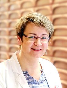 Porträtfoto von Frau Bairstow