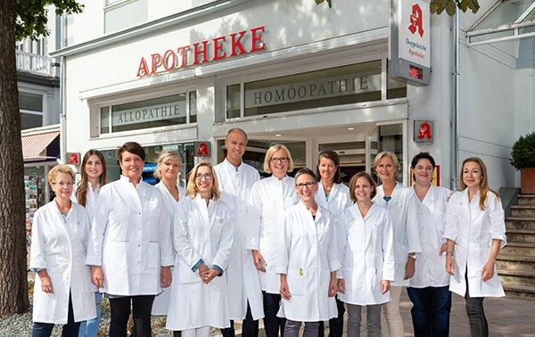 Team der Doppeleiche-Apotheke